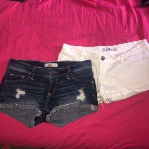 Hollister Jean shorts bundle
